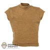 Shirt: Very Hot Tan T-Shirt w/Cut Sleeves