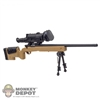 Rifle: Very Hot Sniper Rifle w/Bipod & Two Sights