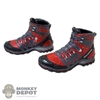 Boots: Very Hot Multi Colored Molded Boots