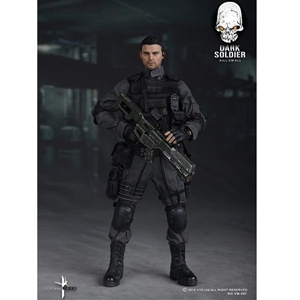 Uniform Set: Virtual Toys Dark Soldier (VM007)