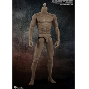 Boxed Figure: World Box 1/6 Body 2.0 Male Body w/No Head (WB-VT002)