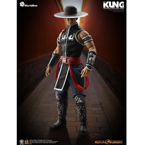 Boxed Figure: World Box Mortal Kombat Kung Lao