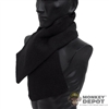 Scarf: World Box Black Scarf