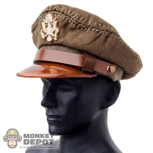 Hat: Wolf King Officer Visor Cap