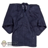 Top: Wolf King Dark Blue Kosode