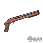 Rifle: Wolf King Copper Plated Shotgun
