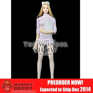 "Uniform Set: Wondery ""The Instinct"" Pink Nurse Uniform"