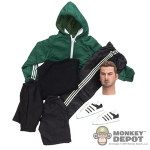 Clothing Set: Wild Toys Windbreaker Set (Green) (WT-22C)