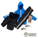 Clothing Set: Wild Toys Windbreaker Set (Blue) (WT-22B)