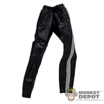 Pants: Wild Toys Black Windbreaker Bottoms