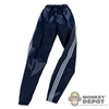 Pants: Wild Toys Dark Blue Windbreaker Bottoms