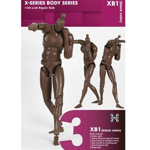 Boxed Figure: X Series Action Figure Male, Afican American (XB01)
