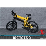 Bicycle: X Toys 1/6 Folding Bike - Yellow (XT-009B)