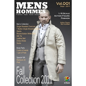 Boxed Figure: ZC World Fashion Hommes Grey Suit (VOL001)