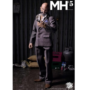 Suit: ZC World Fashion Hommes Grey Suit (Vol 6)