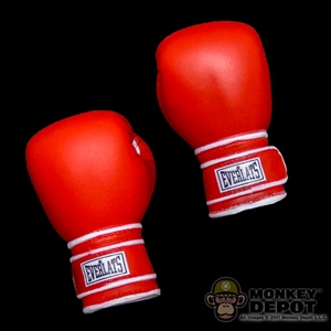 Gloves: ZC World Red Boxing Gloves