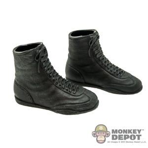 Boots: ZC World Black Boxing Shoes