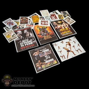 Tool: ZC World Boxing Poster Set #2