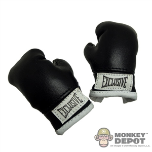 Gloves: ZC World Black Boxing Gloves
