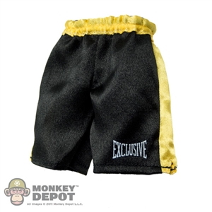 Shorts: ZC World Black & Yellow Boxing Shorts
