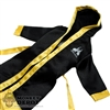 Coat: ZC World Black & Yellow Hooded Robe