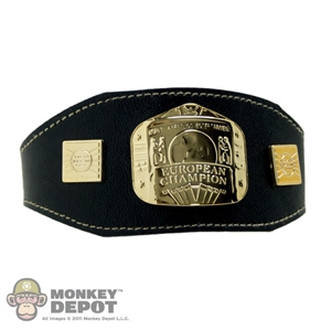Belt: ZC World European Championship Belt
