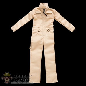 Suit: ZC World Tan Work Coverall (Female)