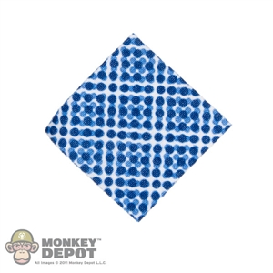 Tool: ZC World Blue Pattern Handkerchief