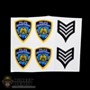 Insignia: ZC World NYPD Patches