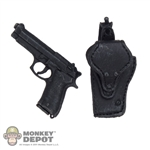 Pistol: ZC World M92F Pistol w/Belt Holster