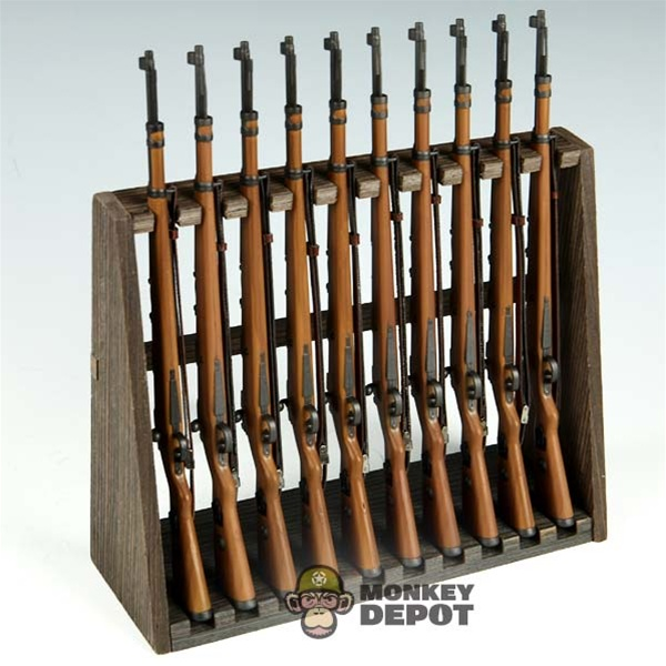 Tool ZY Toys Rifle Rack Wood