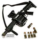 Rifle: ZY Toys Multiple Grenade Launcher M32 MGL - Black