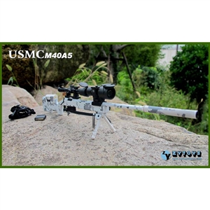 Rifle: ZY Toys USMC M40A5 - Snow