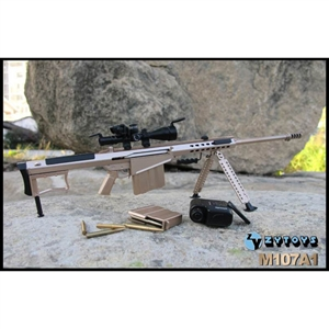 Rifle: ZY Toys M107A1 Version A (ZY-8028A)