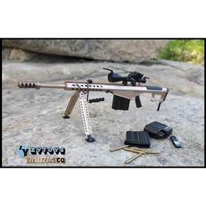 Rifle: ZY Toys M107A1 Version C (ZY-8028C)