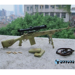 Rifle: ZY Toys 1/6 M14 Tan (ZY-8029T)