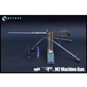 Rifle: ZY Toys 1/6 M2 Machine Gun (Black)