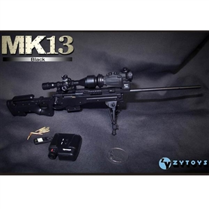 Rifle: ZY Toys 1/6 MK13 (Black)