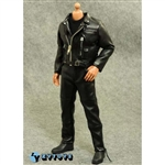 Clothing Set: ZY Toys Leather Biker Set (ZY-T800)