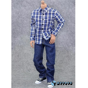 Clothing Set: ZY Toys Plaid Shirt Fashion Set (ZY-7017)