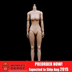 ZY Toys Caucasian Female Medium Breast Body (ZY-N004)