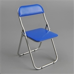 Chair: ZY Toys Blue Folding Chair (ZY-15-22B)