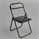 Chair: ZY Toys Black Folding Chair (ZY-15-22C)