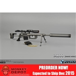 Rifle: ZY Toys M200 Bolt-Action Sniper Rifle (Metal Color) (ZY-15-11)