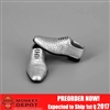 Shoes: ZY Toys Silver Dress Shoes (ZY-16-22D)