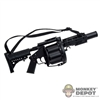 Rifle: ZY Toys Multiple Grenade Launcher M32 MGL-105  - Black