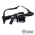 Rifle: ZY Toys Multiple Grenade Launcher MGL Mk14 Short - Black