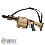 Rifle: ZY Toys Multiple Grenade Launcher M32 MGL-140 - Desert