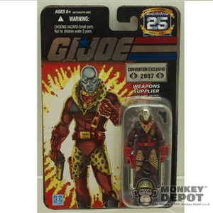 GI JOE : Pimp Daddy Destro 2007 Comic-Con Exclusive