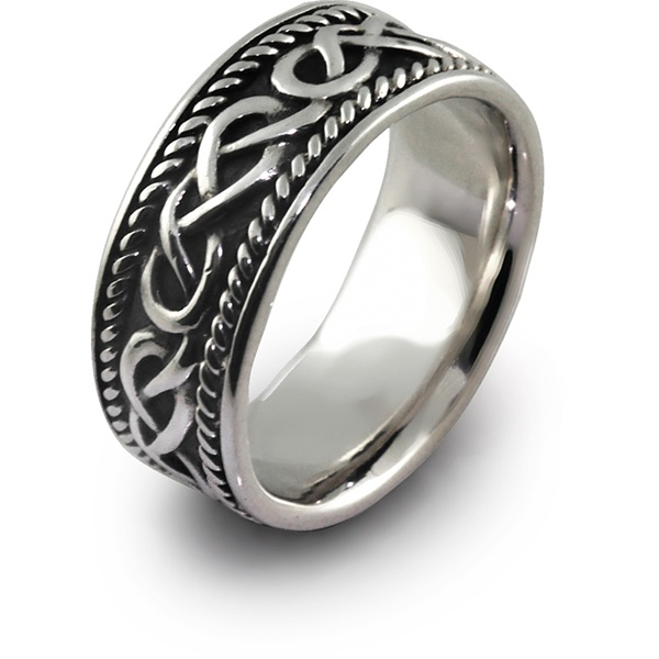 Mens Celtic Rings Shm Sd1